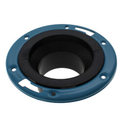 "4"" x 3"" SPG x SPG<br>ABS Adjustable Closet Flange (58512A) Product Image"