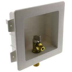 "1/2"" Sweat Ice Machine Outlet Box Product Image"