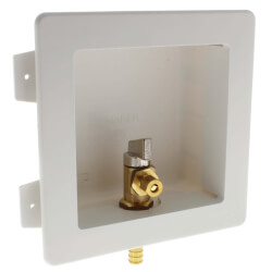 "1/2"" PEX Crimp Ice Machine Outlet Box Product Image"