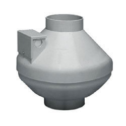 "ILF120 Remote Mount<br>In-Line Vent Fan, 4"" Diam. Duct Size (110 CFM) Product Image"