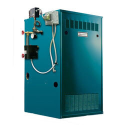 210,000 BTU Independence Series Gas-Fired Steam Boiler, Standing Pilot (Nat Gas) Product Image