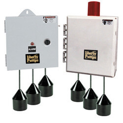 IPD Duplex Control Panel 120/208/240V, NEMA 4X<br>1 Ph., 0 - 14.9 amps Product Image