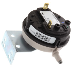 ".65""Wc SPST 1/4"" Barb Connection Pressure Switch Product Image"