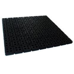 "Iso-Cube Anti-Vibration Pad, 18"" x 18"" x 3/4"" Product Image"
