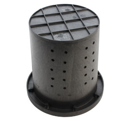 """Crawl Space Perforated Basin & Cover<br>16-1/2"""" x 15"""" Product Image"""
