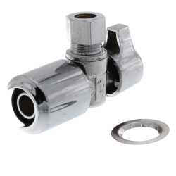 "1/2"" x 3/8"" SharkBite EvoPEX Angle Stop Valve Product Image"
