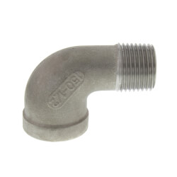 "T304 1/2"" Stainless Steel 90° Street Elbow Product Image"