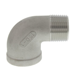 "T304 1"" Stainless Steel 90° Street Elbow Product Image"
