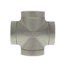 "T304 3/4"" Stainless Steel Cross Product Image"