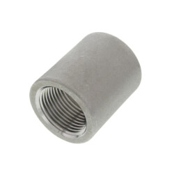 "T304 3/4"" Stainless Steel Coupling Product Image"