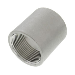 "T304 1-1/4"" Stainless Steel Coupling Product Image"