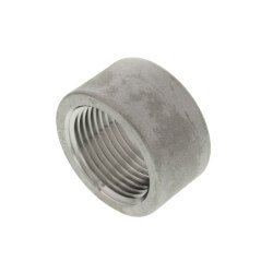 "T304 1"" Stainless Steel Half Coupling Product Image"