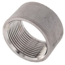 "T304 1-1/4"" Stainless Steel Half Coupling Product Image"