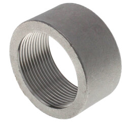 "T304 1-1/2"" Stainless Steel Half Coupling Product Image"