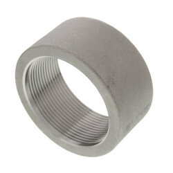 "T304 2"" Stainless Steel Half Coupling Product Image"