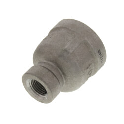 "T304 1/2"" x 1/8"" Stainless Steel Reducer Coupling Product Image"