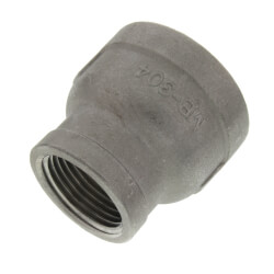 "T304 1"" x 3/4"" Stainless Steel Reducer Coupling Product Image"