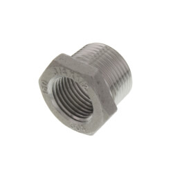 "T304 3/4"" X 1/2"" Stainless Steel Hex Bushing Product Image"