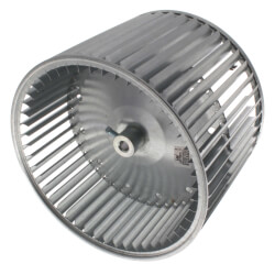 """11-1/8"""" Convex DBL Inlet Blower Wheel w/ Direct Drive, CCW (1/2"""" Bore) Product Image"""