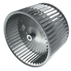 "10-5/8"" Convex DBL Inlet Blower Wheel w/ Direct Drive, CW (1/2"" Bore) Product Image"