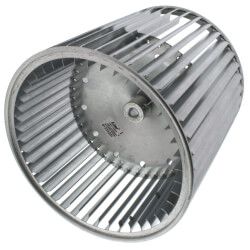 """9-1/2"""" Concave DBL Inlet Blower Wheel w/ Direct Drive, CW (1/2"""" Bore) Product Image"""