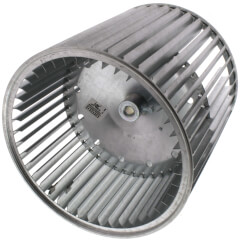 """9-1/2"""" Concave DBL Inlet Blower Wheel w/ Direct Drive, CCW (1/2"""" Bore) Product Image"""