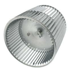 "11-3/4"" Concave Double Inlet Blower Wheel with Direct Drive, CW (1/2"" Bore) Product Image"