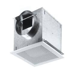 """L100MG Ceiling Mount Vent Fan w/ Metal Grille<br>6"""" Round Duct, 115 CFM Product Image"""