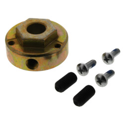 "Hex and Round Hub with 1/2"" Bore Product Image"