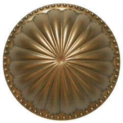 """5-1/2"""" Laguna Dome Cleanout Cover (Glamour Gold) Product Image"""