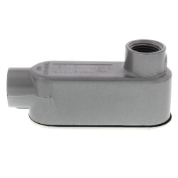 "1/2"" LB Conduit Body with Cover and Gasket Product Image"