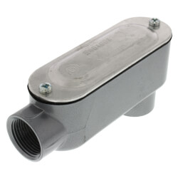 "3/4"" LB Combination Conduit Body with Cover and Gasket Product Image"