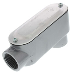 """1"""" LB Conduit Body with Cover and Gasket Product Image"""