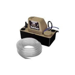 1/30 HP Automatic Condensate Removal Pump w/ Safety Switch and Tubing, 6 ft Cord (115V) Product Image