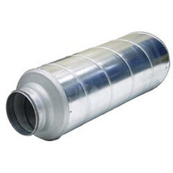 """16"""" Silencer for<br>Circular Ducts Product Image"""