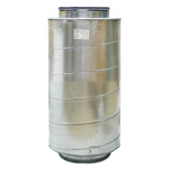 "Galvanized Steel<br>Silencer for 5"" Duct Product Image"