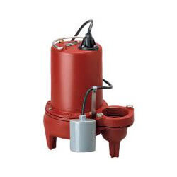 """1 HP Auto Submersible Pump 208/230V, 10' Cord<br>2"""" Discharge Product Image"""