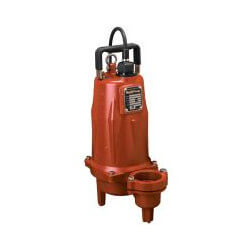 "2 HP Man. Submersible Sewage Pump - 208/230V 25' Cord - 2"" Discharge Product Image"