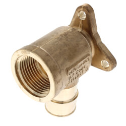 "1"" ProPEX x 1"" FIP Drop Ear Elbow (Lead Free Brass) Product Image"