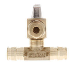 """1/2"""" ProPEX In-Line Ice Maker Tee Product Image"""