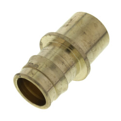 "1"" ProPEX Copper Fitting Adapter  (Lead Free Brass) Product Image"