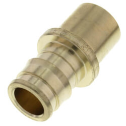 "1/2"" ProPEX Male Sweat Copper Fitting Adapter (Lead Free Brass) Product Image"