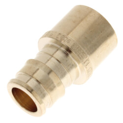 "1/2"" ProPEX x Female Sweat Copper Pipe Adapter (Lead Free Brass) Product Image"