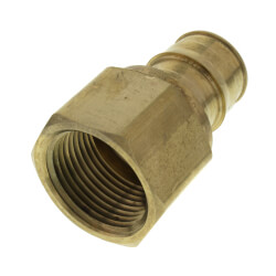 "1"" ProPEX x 1"" NPT Female Adapter (Lead Free Brass) Product Image"