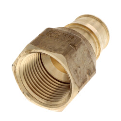 "3/4"" ProPEX x 3/4"" NPT Female Adapter (Lead Free Brass) Product Image"