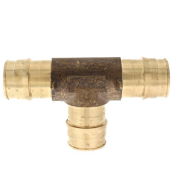 """1"""" ProPEX Tee (Lead Free Brass) Product Image"""