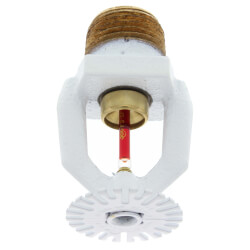 Recessed Pendent Sprinkler, 155°F, 4.9 K-Factor, White Product Image