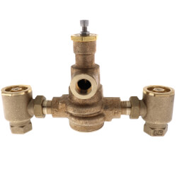 "3/4"" HydroGuard XP Supply Fixture, Rough Bronze (90°-160°F) Product Image"