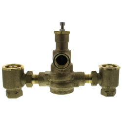 "3/4"" x 1"" HydroGuard XP Supply Fixture, Rough Bronze (90°-160°F) Product Image"