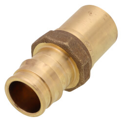 "1"" ProPEX x 1"" Copper Press Brass Fitting Adapter (Lead Free) Product Image"